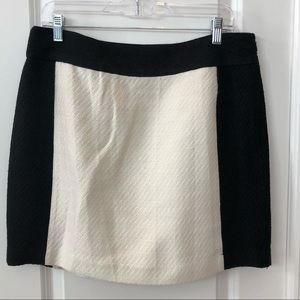 NWOT Banana Republic Block Wool Skirt.